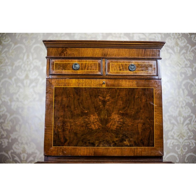 Wood Late 19th-Century Secretary Desk For Sale - Image 7 of 13