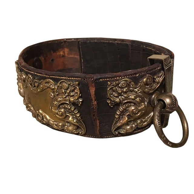 Metal 19th Century Dog Collar For Sale - Image 7 of 11