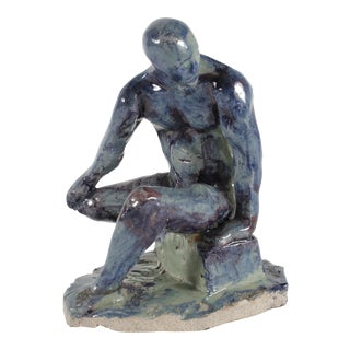 2003 Ceramic Figure Sculpture by Dave Fox