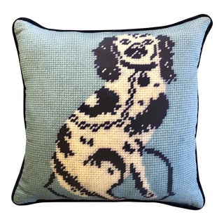 "Staffordshire Blue 20"" Custom Pillow For Sale"
