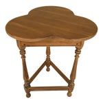 Ethan Allen Maple Clover Accent Side Table