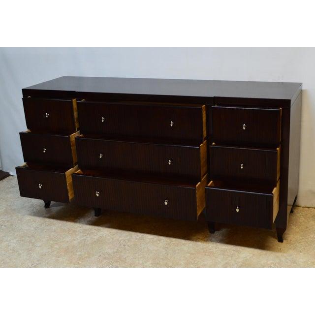 Baker Barbara Barry Solid Mahogany Reeded Dresser For Sale - Image 11 of 13