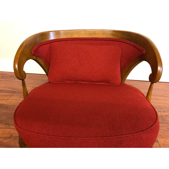 Tomlinson Sophisticate Vintage Occasional Chair For Sale - Image 11 of 13