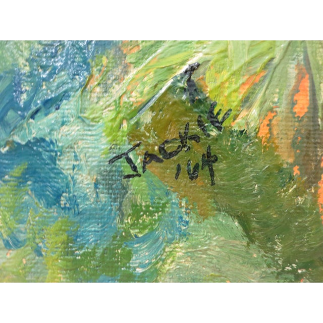 Jackie Johnson Vintage 1960's Abstract Painting - Image 4 of 5
