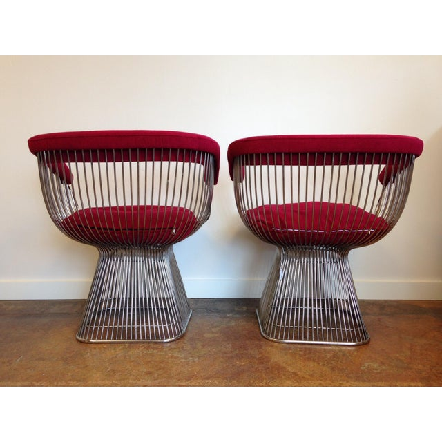 Vintage Warren Platner Style Chairs - A Pair - Image 4 of 5