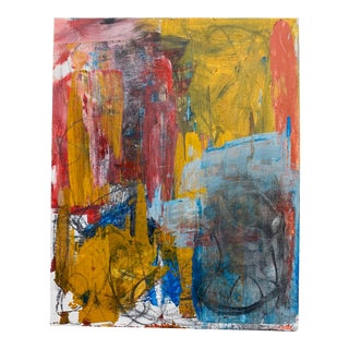 Contemporary Abstract Expressionist Acrylic Painting For Sale