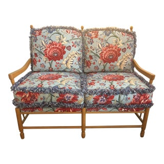 Upholstered Bench Settee by Pearson For Sale