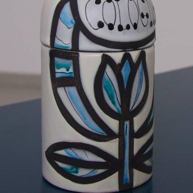 Roger Capron Signed Roger Capron Cologne Bottle for Vallauris For Sale - Image 4 of 5