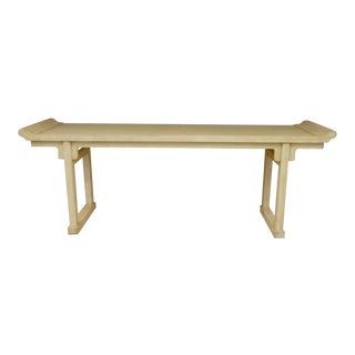 1970's McGuire Ming Altar Table For Sale