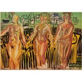 """Image of 1954 Raoul Dufy, """"The Siene, the Oise, and the Marne"""" First Edition Lithograph For Sale"""