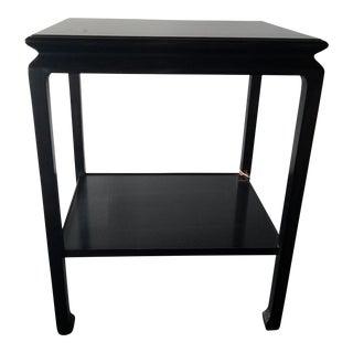 Holland & Company Finlay Side Table in Ebony