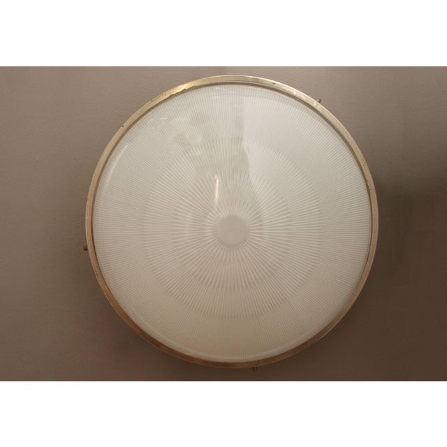 Artemide 1960s Sergio Mazza 'Sigma' Wall or Ceiling Light for Artemide For Sale - Image 4 of 11