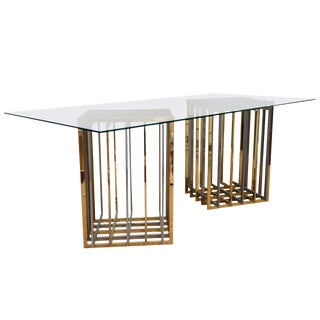 Pair of Table Bases by Pierre Cardin
