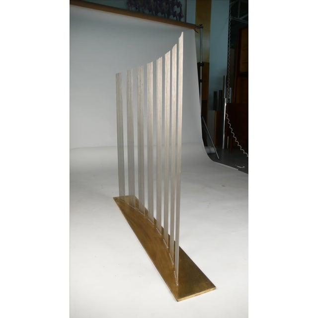 """Val Bertoia Val Bertoia """"8 Times Sound"""" Rods Sculpture For Sale - Image 4 of 11"""