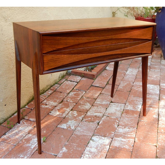 Swedish Mid-Century Modern Mini-Chest in Rosewood - Image 3 of 8