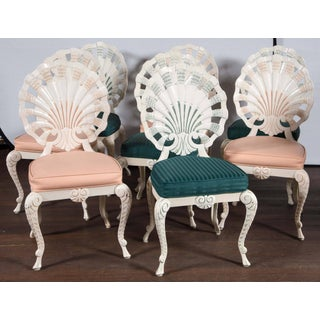 Set of Eight Shell Back Dining Chairs Preview