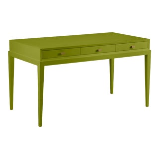 Casa Cosima Hayes Desk, Dark Celery For Sale