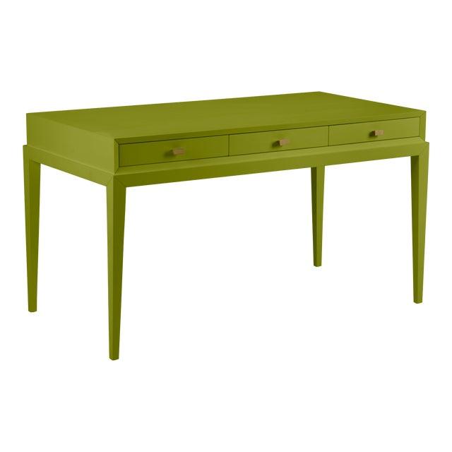 Casa Cosima Hayes Desk, Dark Celery For Sale