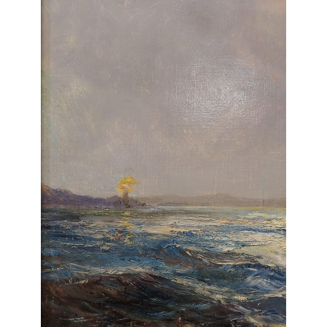 """Daniel Sherrin the Elder """"Clipper Ship"""" Seascape Oil Painting, 19th Century For Sale In Los Angeles - Image 6 of 10"""