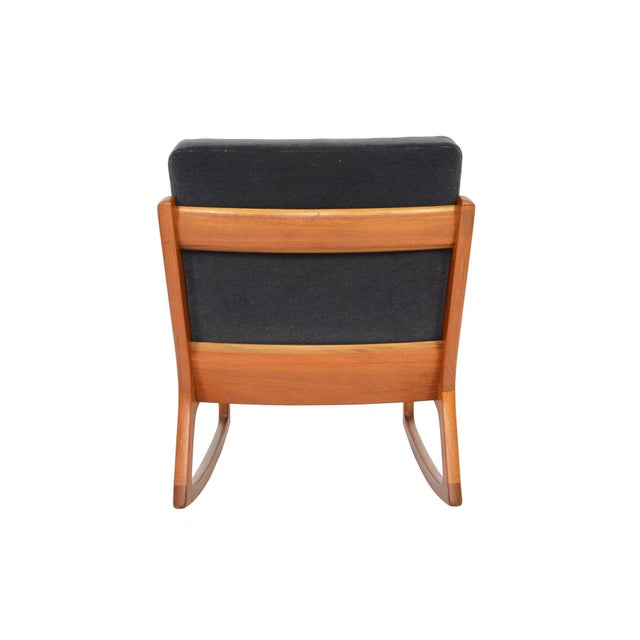 Ole Wanscher Teak Senator Rocking Chair - Image 7 of 8
