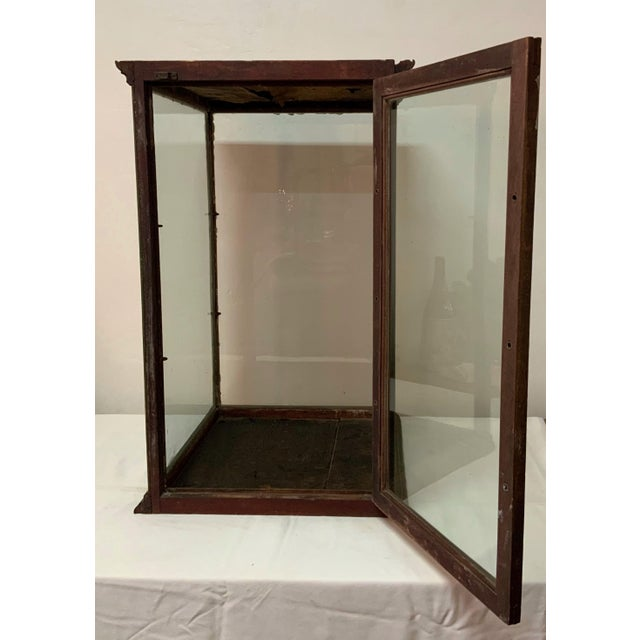 Metal 19th Century Display Case For Sale - Image 7 of 13