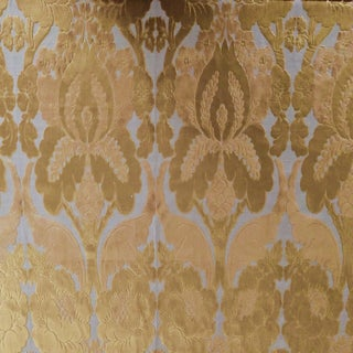 Boho Chic Christopher Hyland Vivald Cut Velvet Designer Fabric by the Yard For Sale