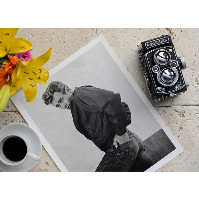 Mid-Century Modern James Dean 1955 For Sale - Image 3 of 5