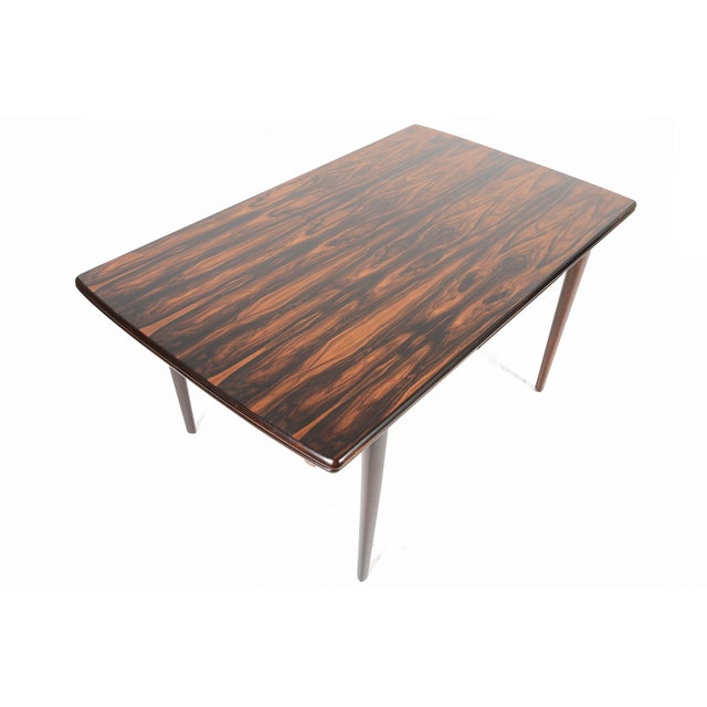 Brazilian Rosewood Draw Leaf Dining Table - Image 2 of 11