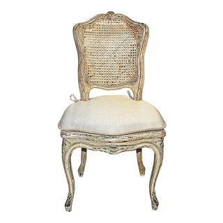 19th Century French-Country Caned Chair
