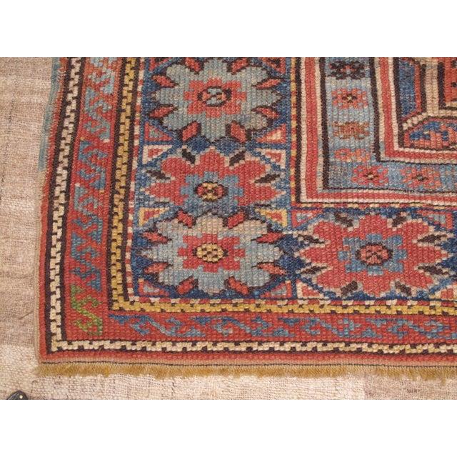 Islamic Antique Oushak Carpet For Sale - Image 3 of 8