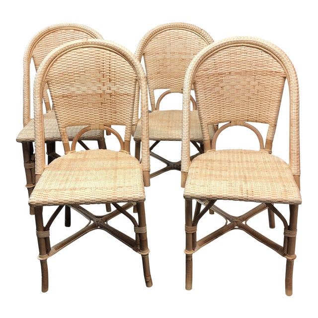 Marvelous Serena Lily Riviera Dining Chairs Set Of 4 Dailytribune Chair Design For Home Dailytribuneorg