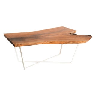 Organic Modern Intersection Coffee Table in Cherry For Sale
