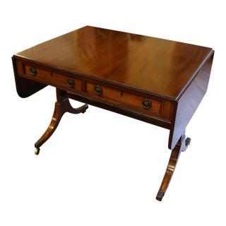George III Mahogany Sofa Table For Sale