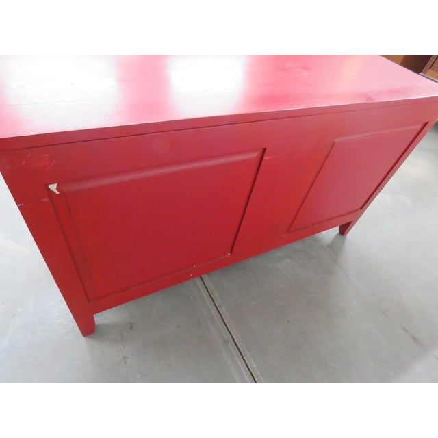 Roche Bobois Paint Decorated Commode For Sale - Image 10 of 13