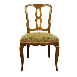 Late 20th Century Rway Furniture Country French Style Dining Side Chair For Sale