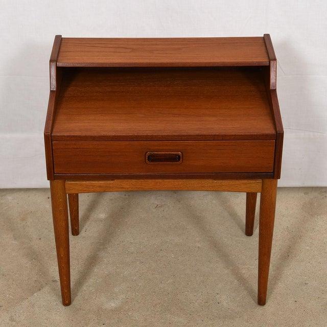 Wood Arne Hovmand-Olsen for Mogens Kold Teak Nightstands - a Pair For Sale - Image 7 of 8