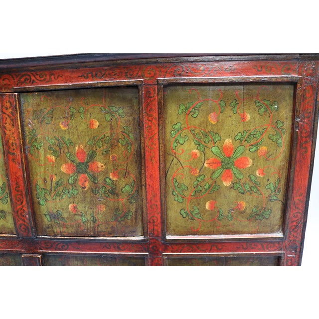 1920s Tibetan Chest For Sale - Image 4 of 7