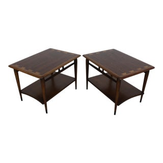 Mid-Century End Tables Danish Modern by Andre Bus Lane Acclaim 900-05 For Sale