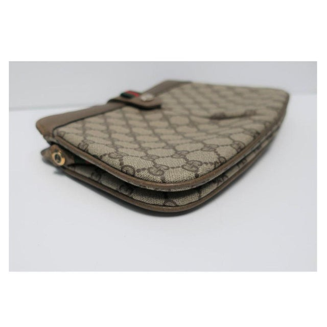 Canvas Gucci Bag Clutch For Sale - Image 7 of 11