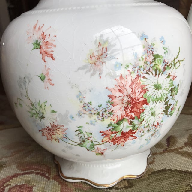 Vintage Flower Vase Pitcher - Image 3 of 10