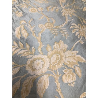 Colefax & Fowler Silk Fabric Remnant For Sale