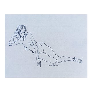 Black and White Nude I Print