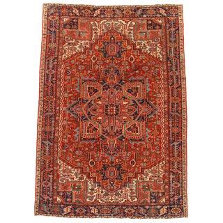 "Pasargad Antique Persian Heriz Rug - 7′7"" × 10′11″ For Sale"