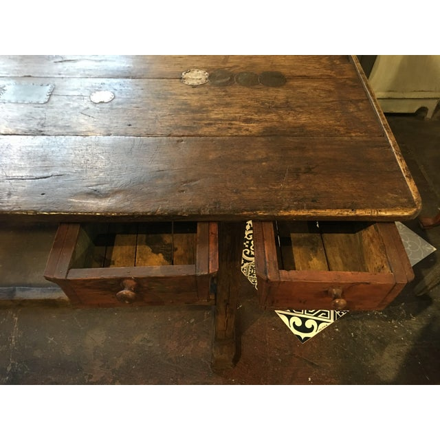 20th Century French Country Work Table For Sale In Denver - Image 6 of 14