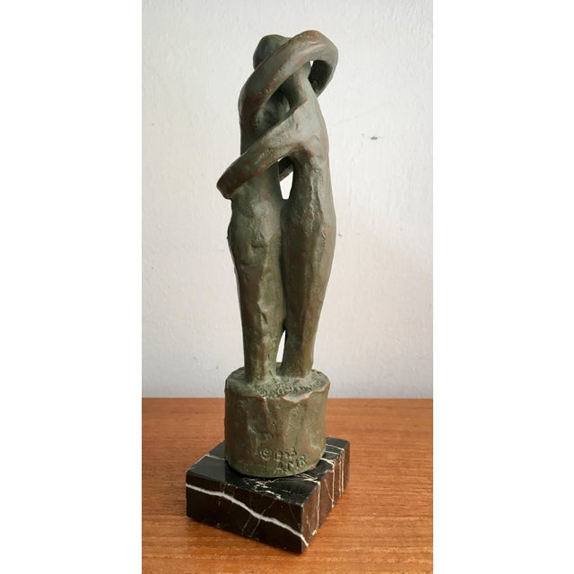 "Alva Studios Modernist ""Lovers"" Sculpture For Sale In New York - Image 6 of 9"