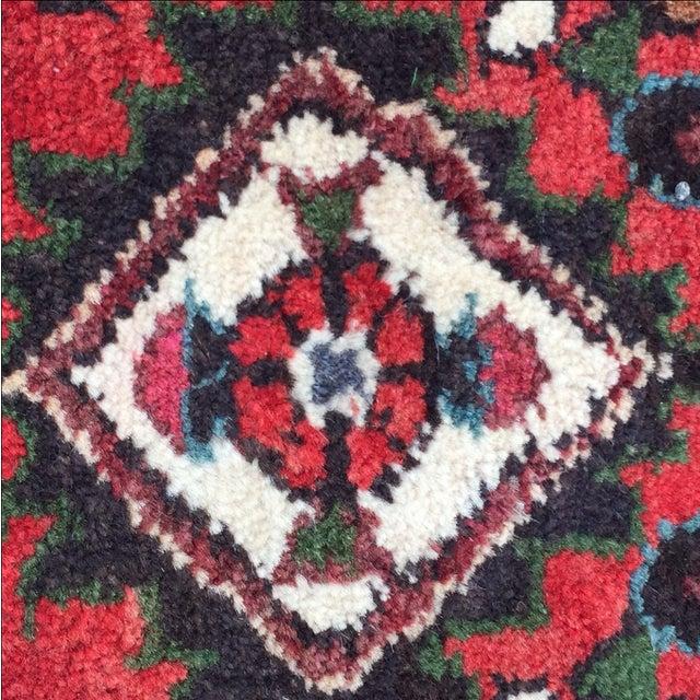 Vintage Hamadan Persian Rug - 1′8″ × 2′1″ - Image 8 of 9