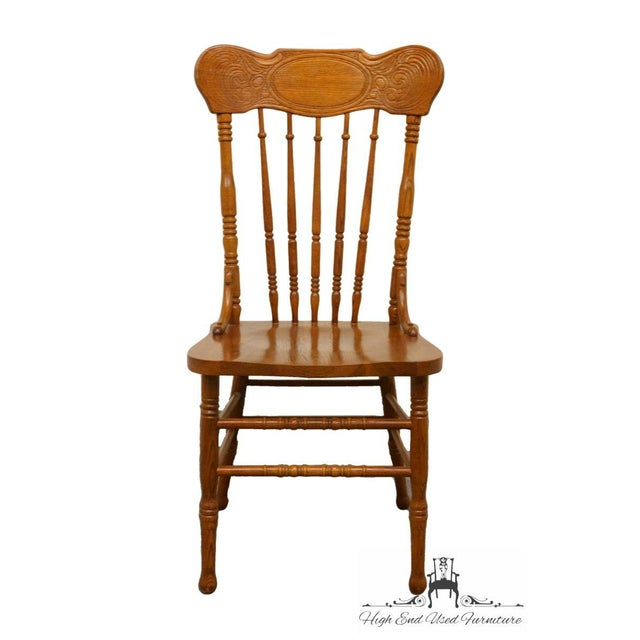 """40"""" High 20.5"""" Wide 20.5"""" Deep Seat: 17.75"""" High We specialize in High End Used Furniture that we consider to be at least..."""