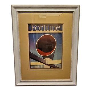 Art Deco Fortune Magazine Cover June 1939 For Sale