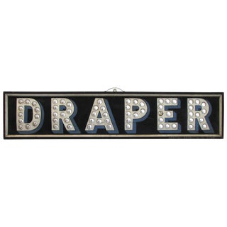 """Draper"" Trade Sign For Sale"