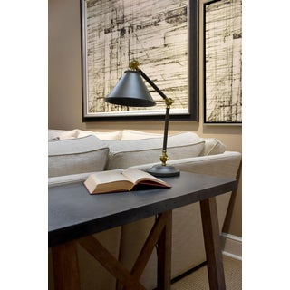 Provence Element Grey Steel Mini Table Lamp Preview